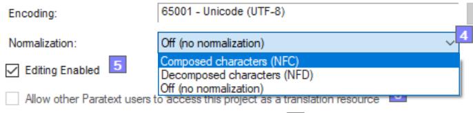 Normalization Feature