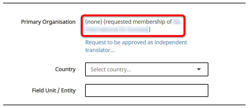 Mmembership requested