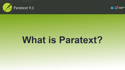 What is Paratext?